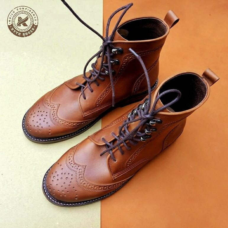 Brogue Boots BRWNNB