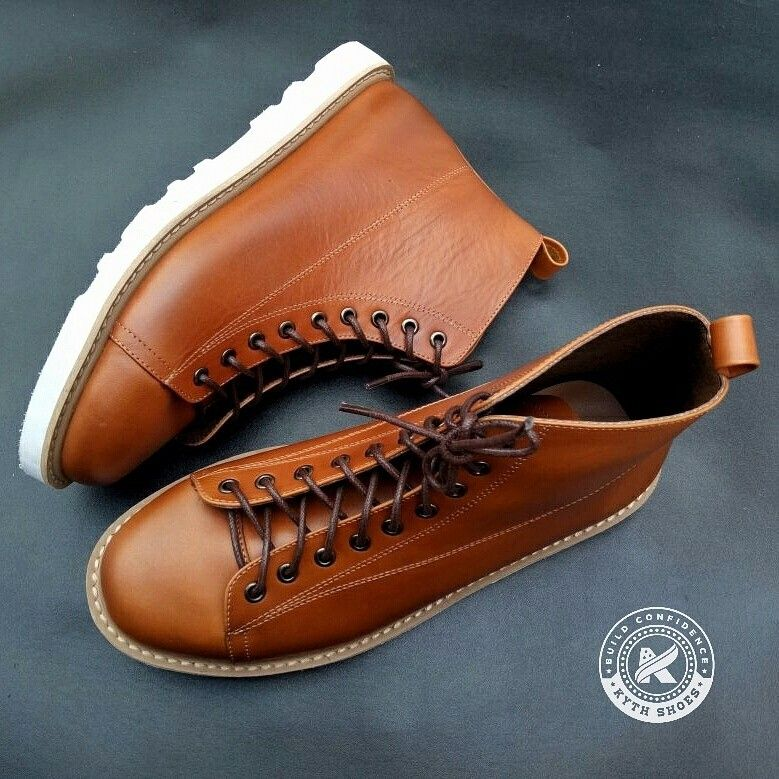 Derby Rugged Boots Tan RW